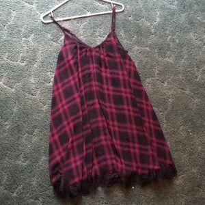 Plaid dress from Express.